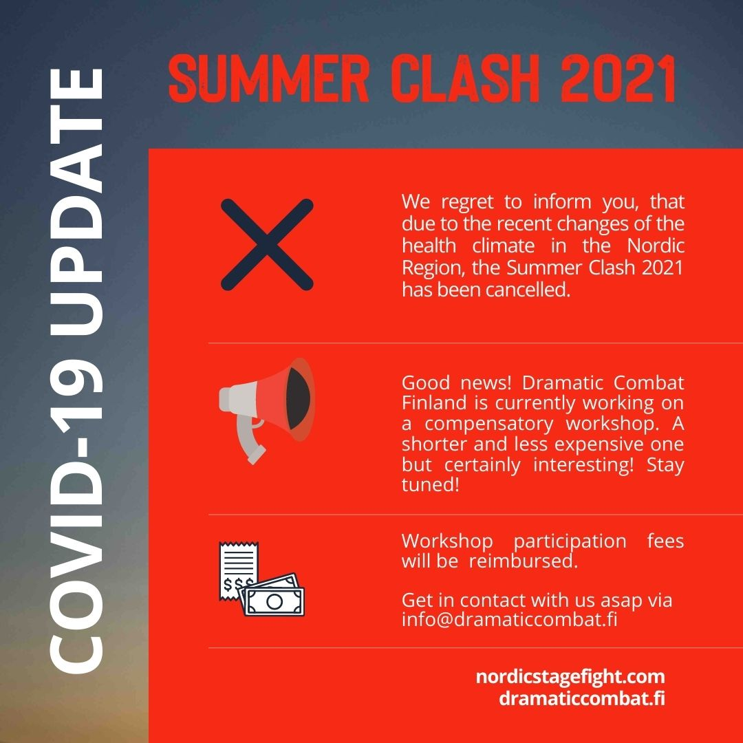Summer Clash 2021 has been cancelled